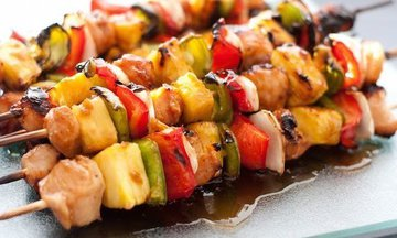 Menu image, Chicken and roasted pepper sticks & Co.