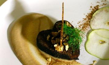 Menu image, The Chocolate Affair. Vegan decadent feast!
