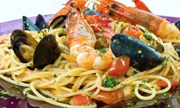 Menu image, Seafood Menu