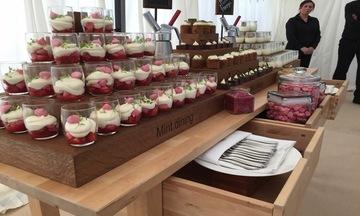 Menu image, Dessert bar