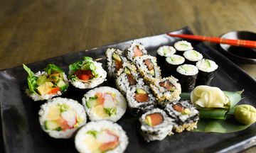 Menu image, Maki Sushi Special with One Hour of Sushi Lesson