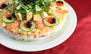 Menu image, Sushi Cake or Maki Sushi Special & Tempura