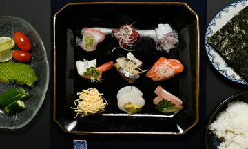 Menu image, Temaki Sushi Party