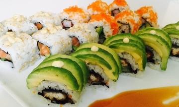 Menu image, Sushi Delight