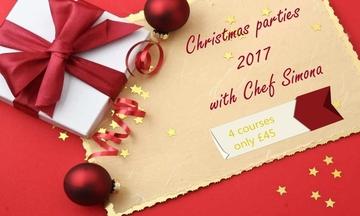 Menu image, Christmas parties menu n.1