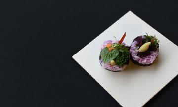 Menu image, Vegan sushi experience