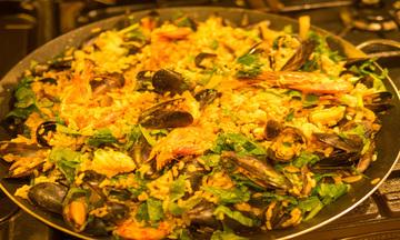 Menu image, Seafood heaven
