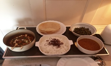 Menu image, Indian Curry Feast