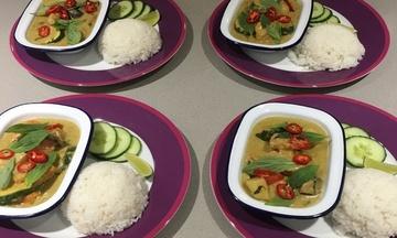 Menu image, Thai Tastes