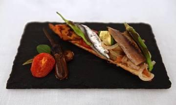Menu image, Spanish-French fusion degustation menu