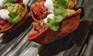 Menu image, A Tex-Mex Feast (4 courses)
