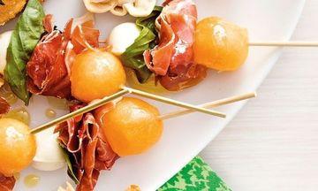 Menu image, Mediterranean flavours