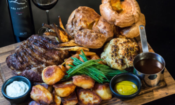 Menu image, Sunday roast