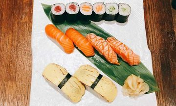 Menu image, Kids sushi party