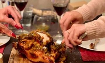 Menu image, Indian Inspired Roast Dinner