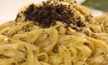 Menu image, Italian traditional dinner