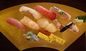 Menu image, Proper Sushi Course