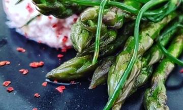 Menu image, 2019 Seasonal Asparagus Tasting